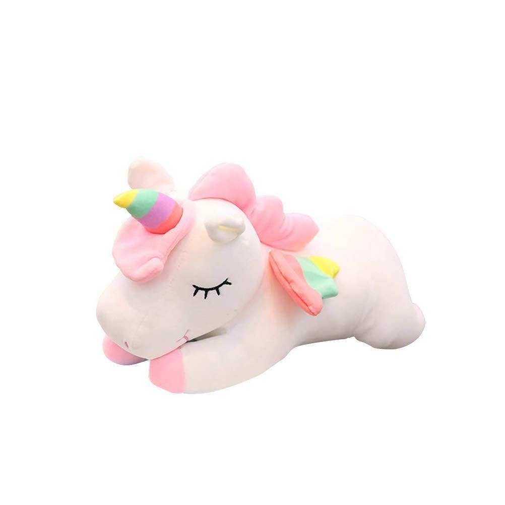 Patpat Plush Toy Stuffed Animal Pillow Cushion Soft Toys For Baby Kids 30cm Pink Unicorn Stuffed Animal Plush Animal Pillows Pet Toys [ 1002 x 1002 Pixel ]