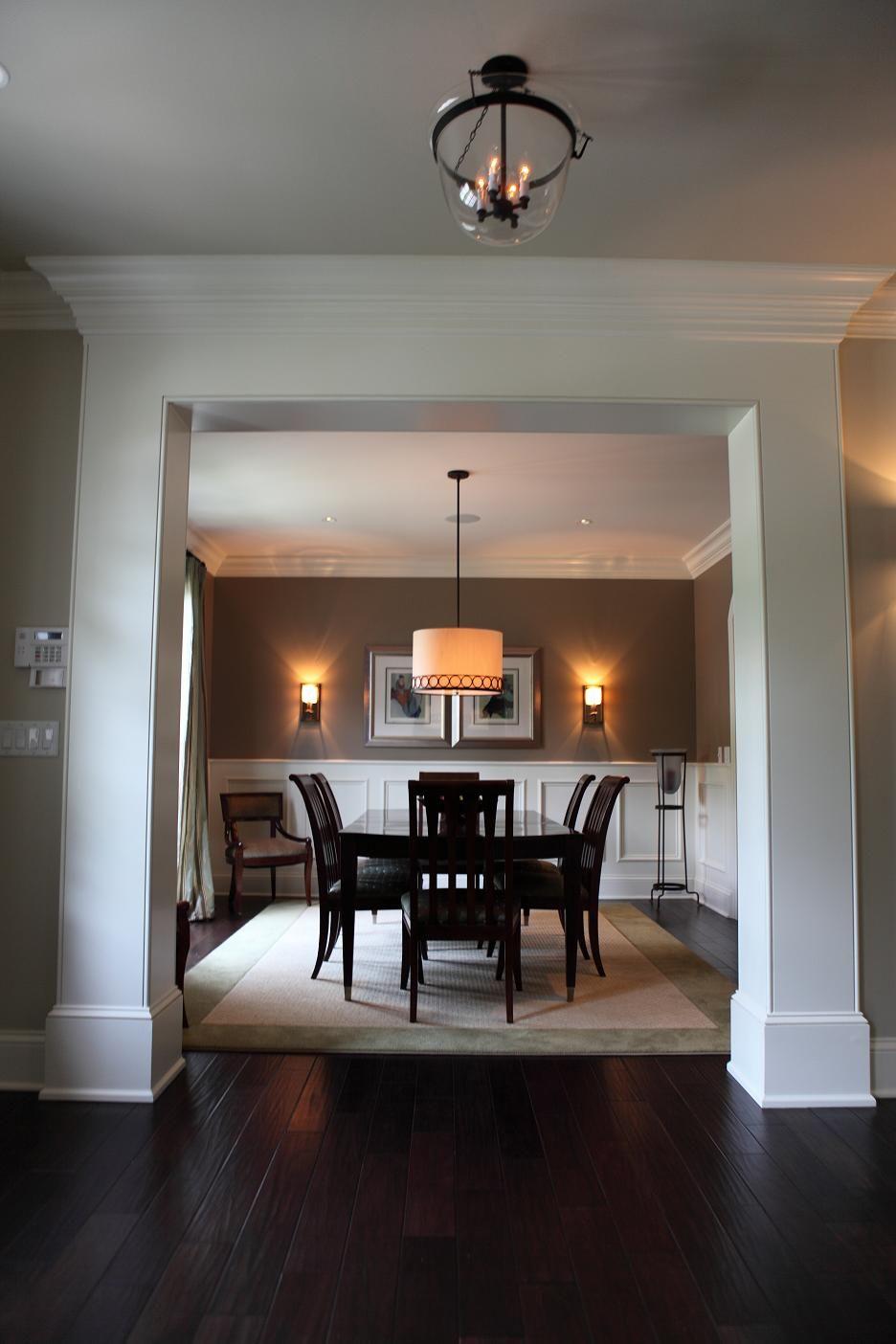 Doorway Column Casing Home Decor Home Interior Trim