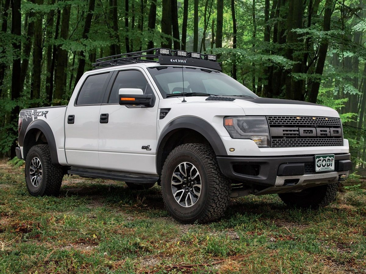 Gobi Ford F150 Raptor Led Package Roof Rack Gff150stl Ford