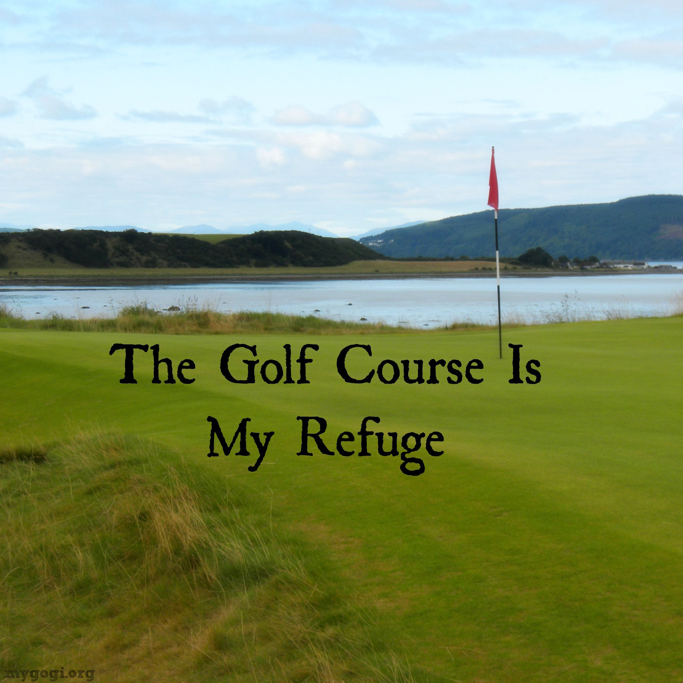Golf Love Quotes There Is No Place I'd Rather Begolf Quotes Sports