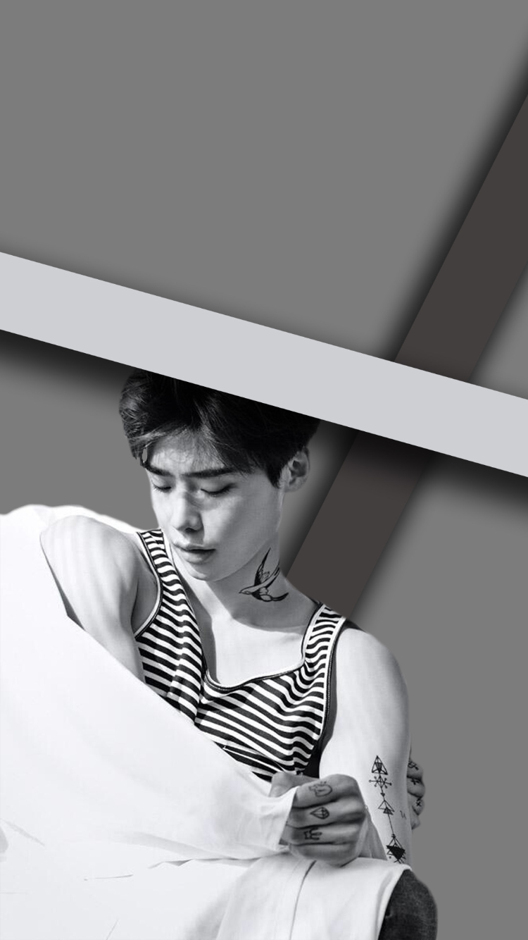 Wallpaper Gray Kpop