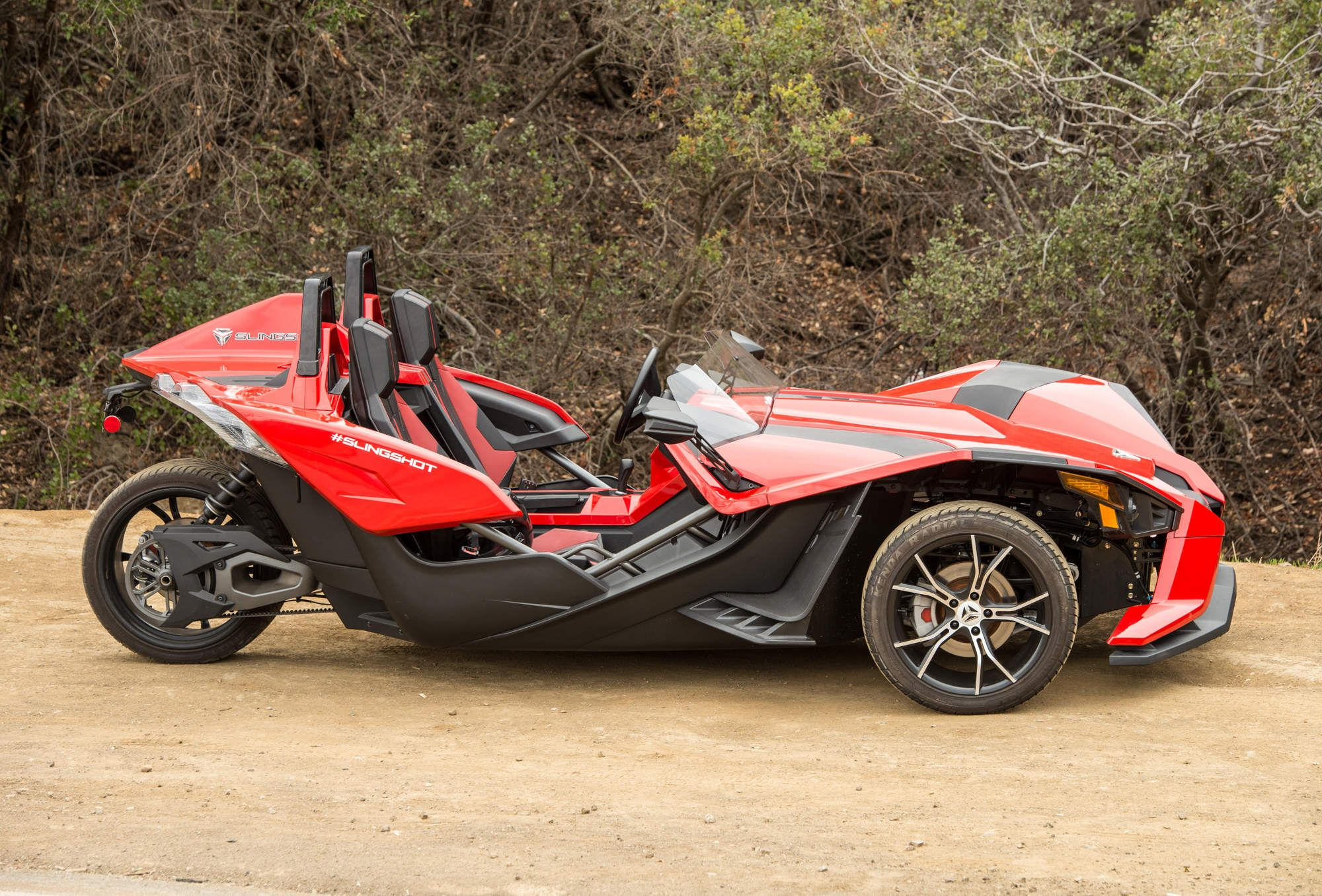The Polaris Slingshot Is The Most Fun You'll Have On 3