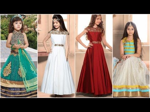 a1cbd26ca فساتين هندية للاطفال البنات 2018, بدلات هندية للبنات, فساتين هندية ساري  للاطفال البنات -