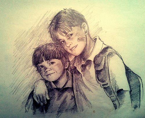 Sam And Dean As Kids From Http Petite Madame Tumblr Com Supernatural Art Supernatural Fan Art Supernatural Drawings