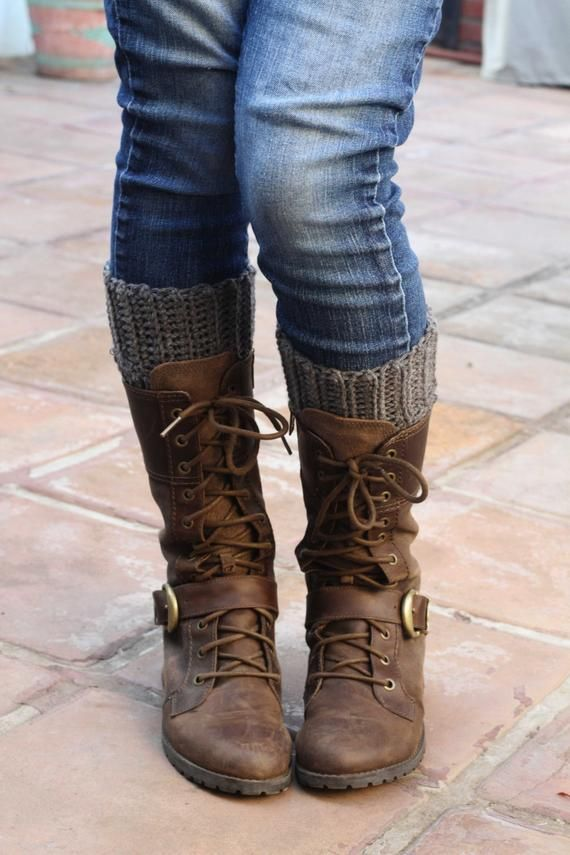 9f2639aed15 Gray Boot Cuffs