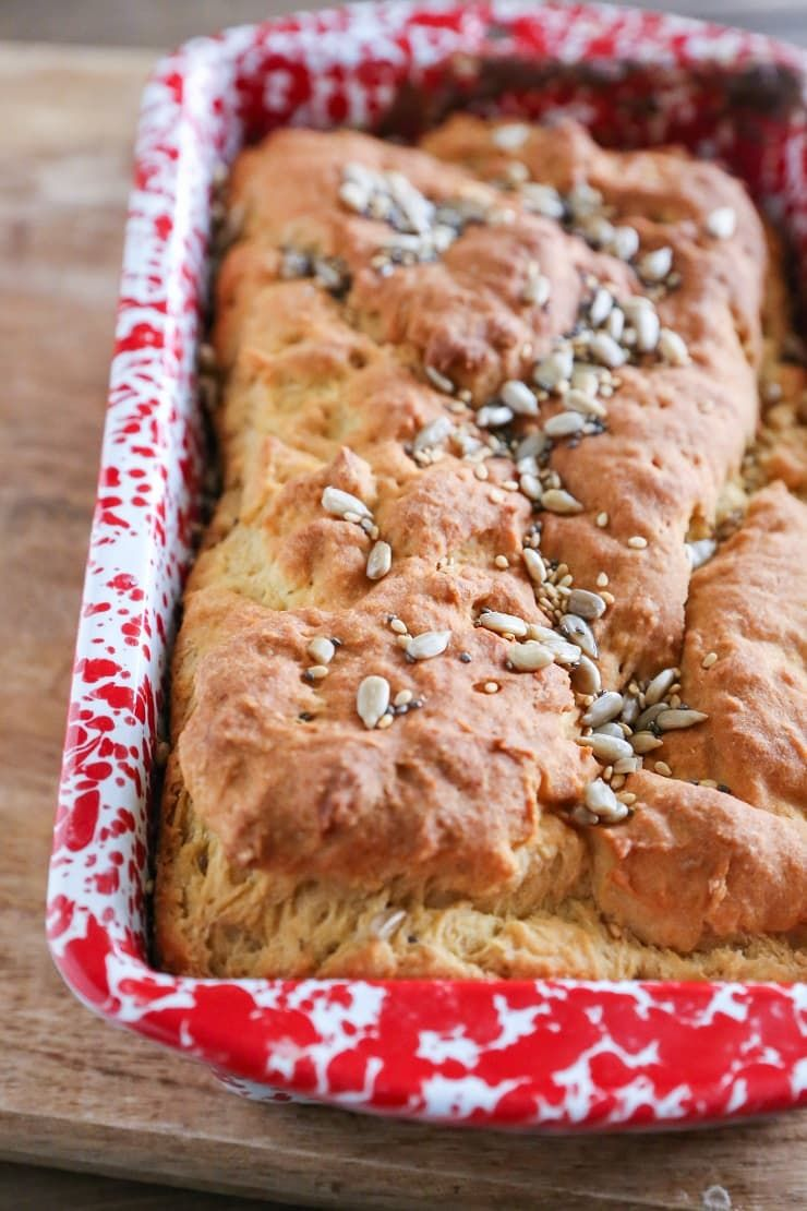GlutenFree Sandwich Bread made with millet flour and