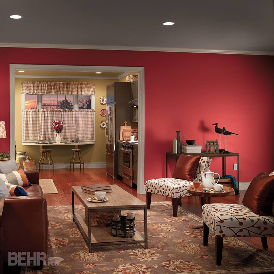 Glowing Embers Interior Colors Inspirations