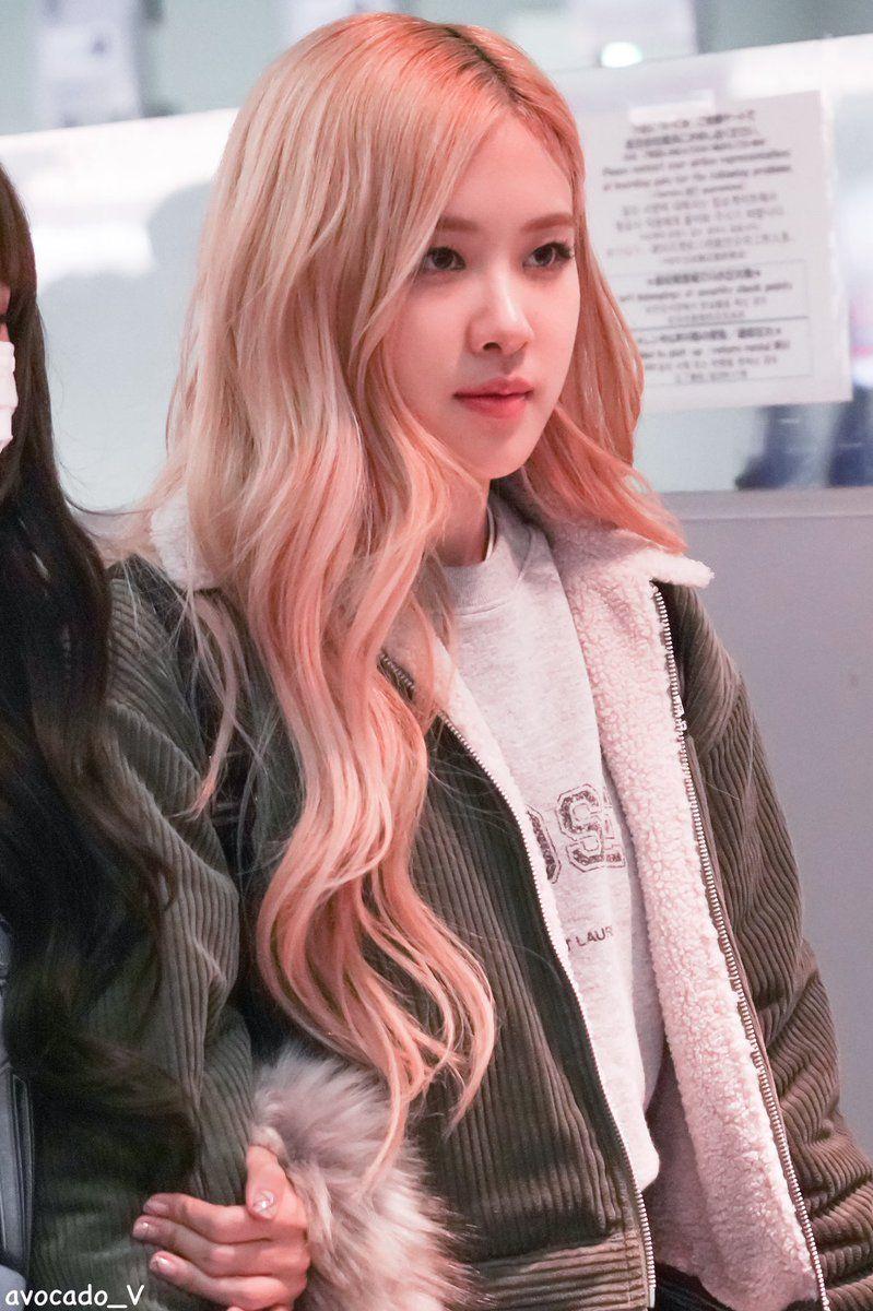 17++ Blackpink rose hair color trends