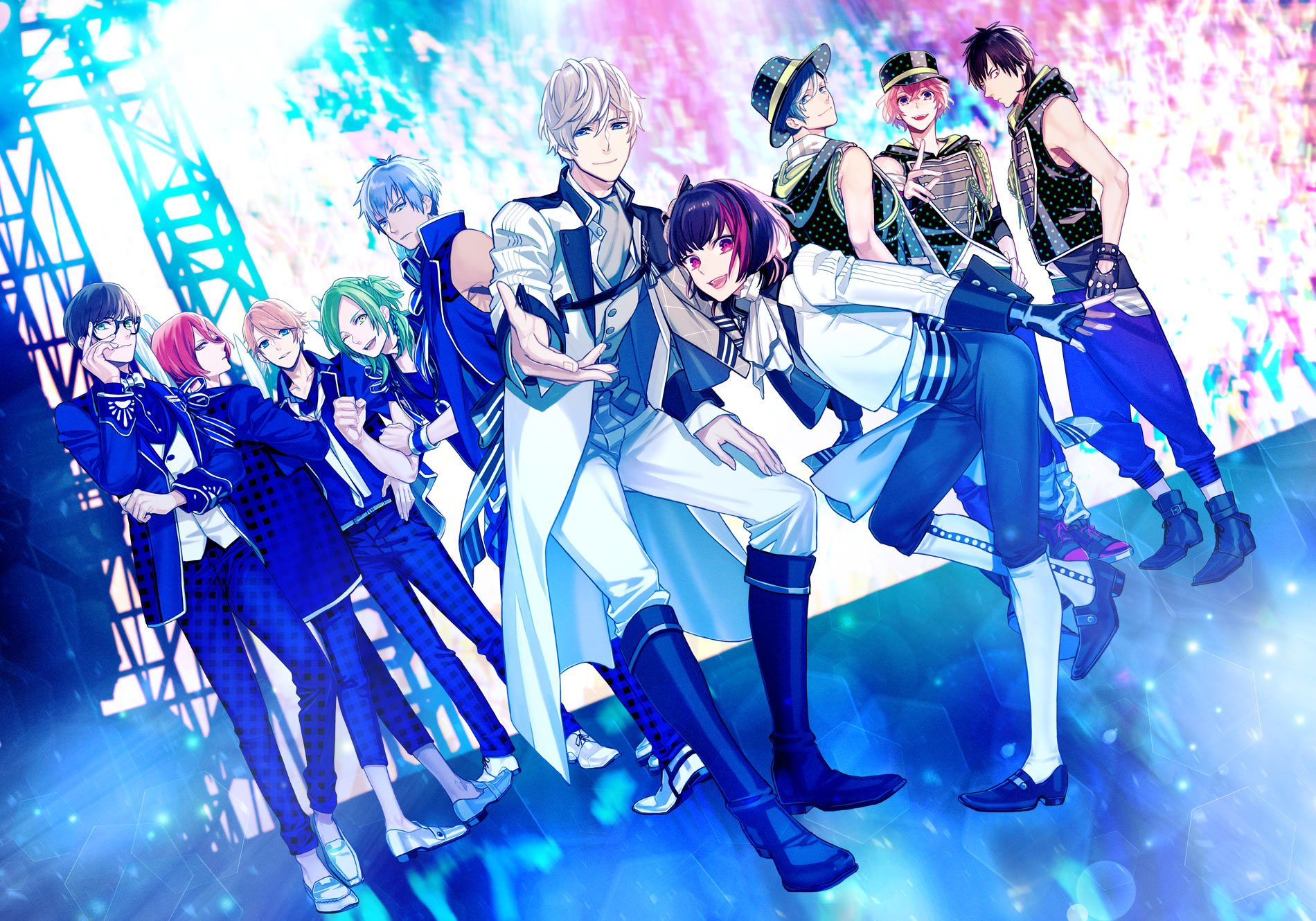 BPro Anime Announcement TVアニメ「BPROJECT~鼓動*アンビシャス~」公式サイト