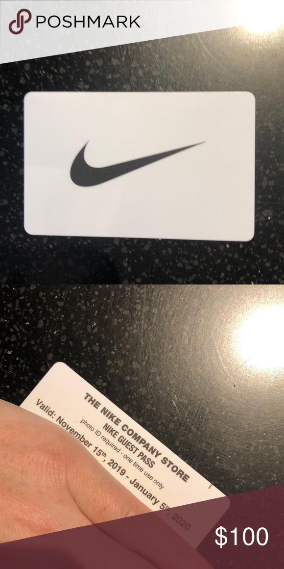 nike employee store pass