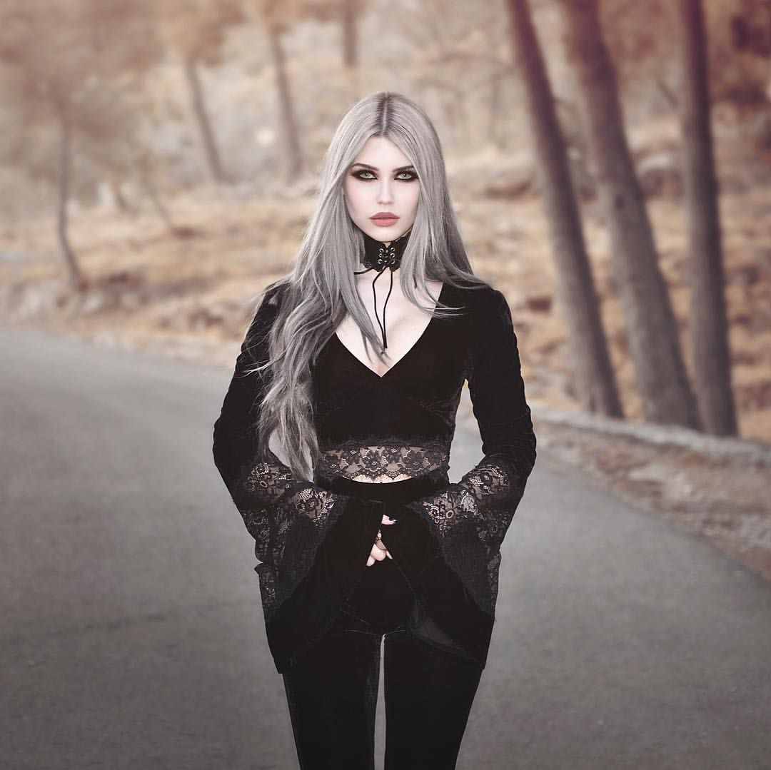 Boho Witch Whole Outfit From Killstarco Stuff Naomi Long Sleeve Top Nova Bell Bottoms Darkgrung Gothic Outfits Modern Witch Fashion Gothic Fashion