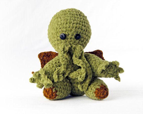 Amigurumi Crochet Cthulhu   Crochet!   Pinterest