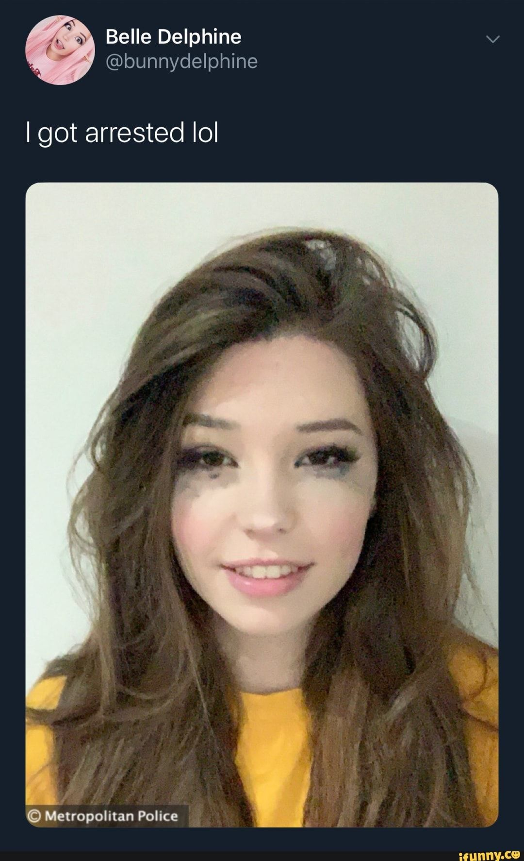 Belle Delphine iFunny ) Beauty, Mug shots, Long hair