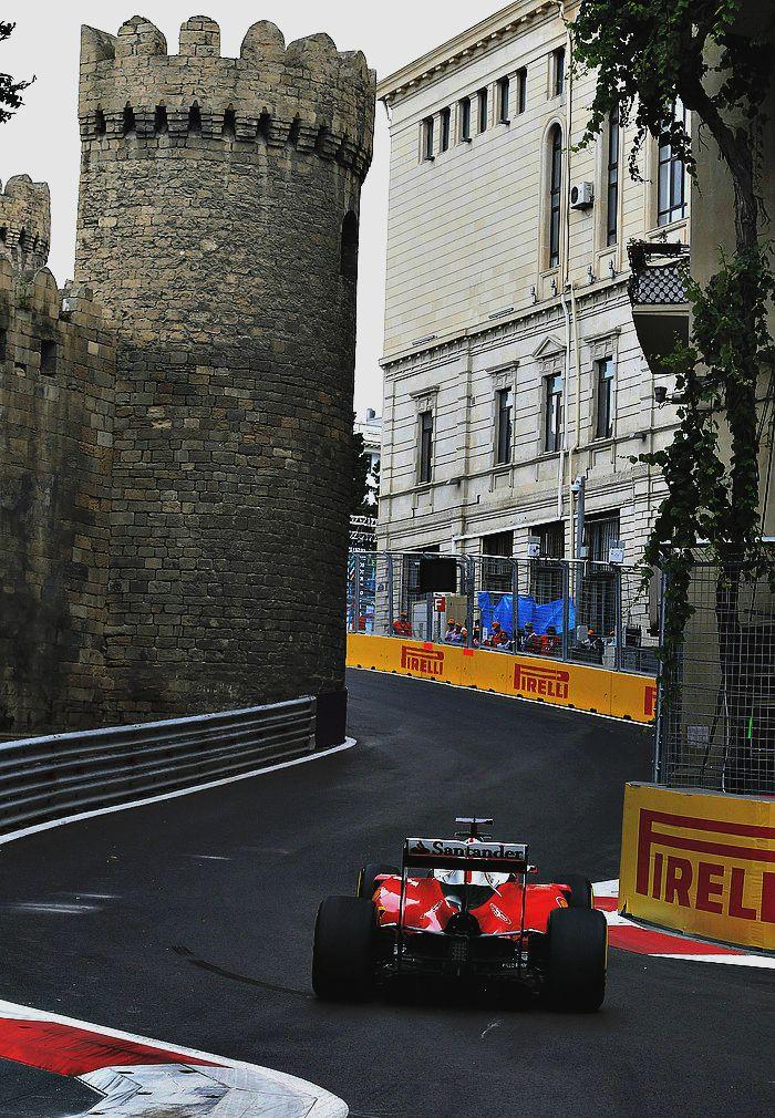 Gran Premio De Europa Baku Kimi Raikkonen Gran Premio Europa Fotografia