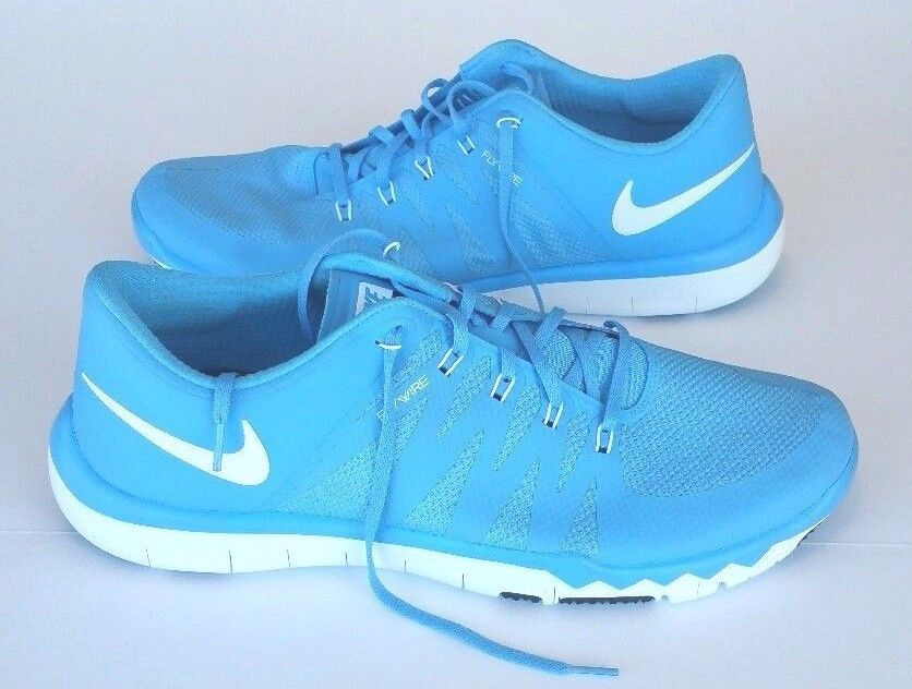 new style b749c 6e236 Nike Mens Free 5.0 TR Flywire Light Blue Training Running Athletic Shoes  Size 17  Nike  AthleticSneakers