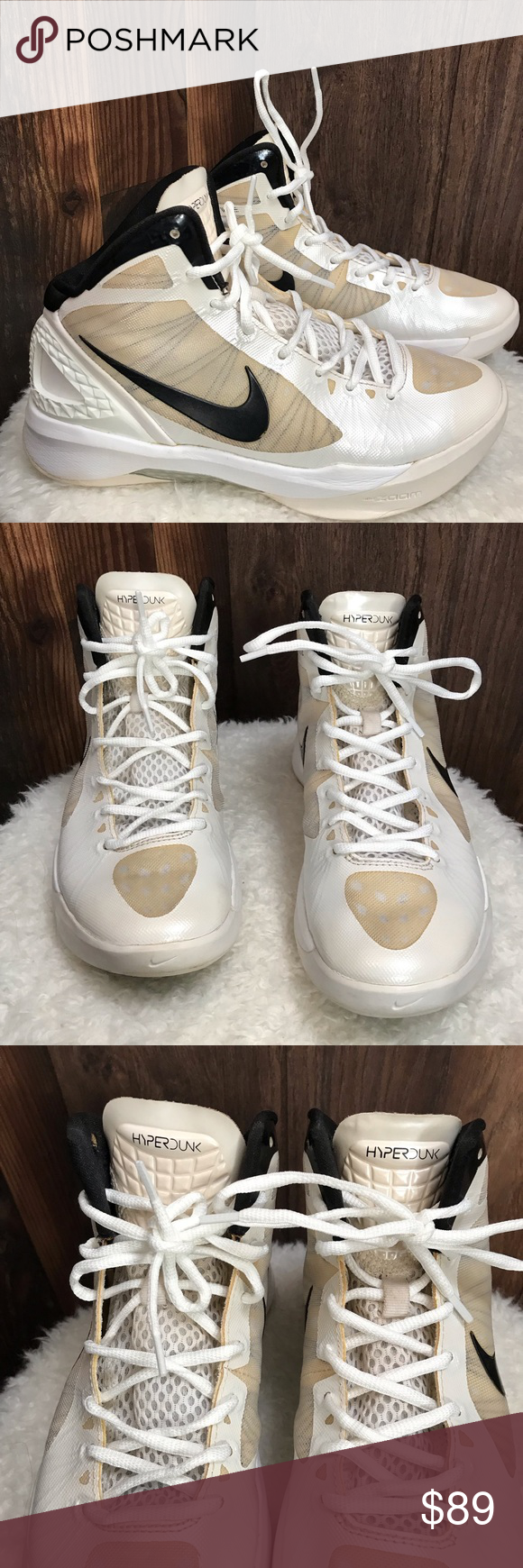 3d32aaf48e55 Nike Womens Zoom Flywire Hyperdunk 2011 Sz 7 These shoes are in amazing  condition! Very lightly used. Nike Womens Zoom Flywire Hyperdunk 2011 Sz 7  White ...