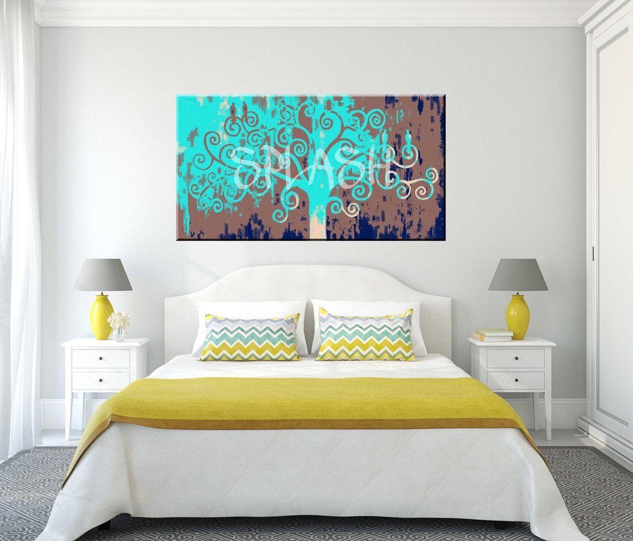 Cuadros modernos cuadros decorativos rbol vida para - Cuadros para dormitorios ...