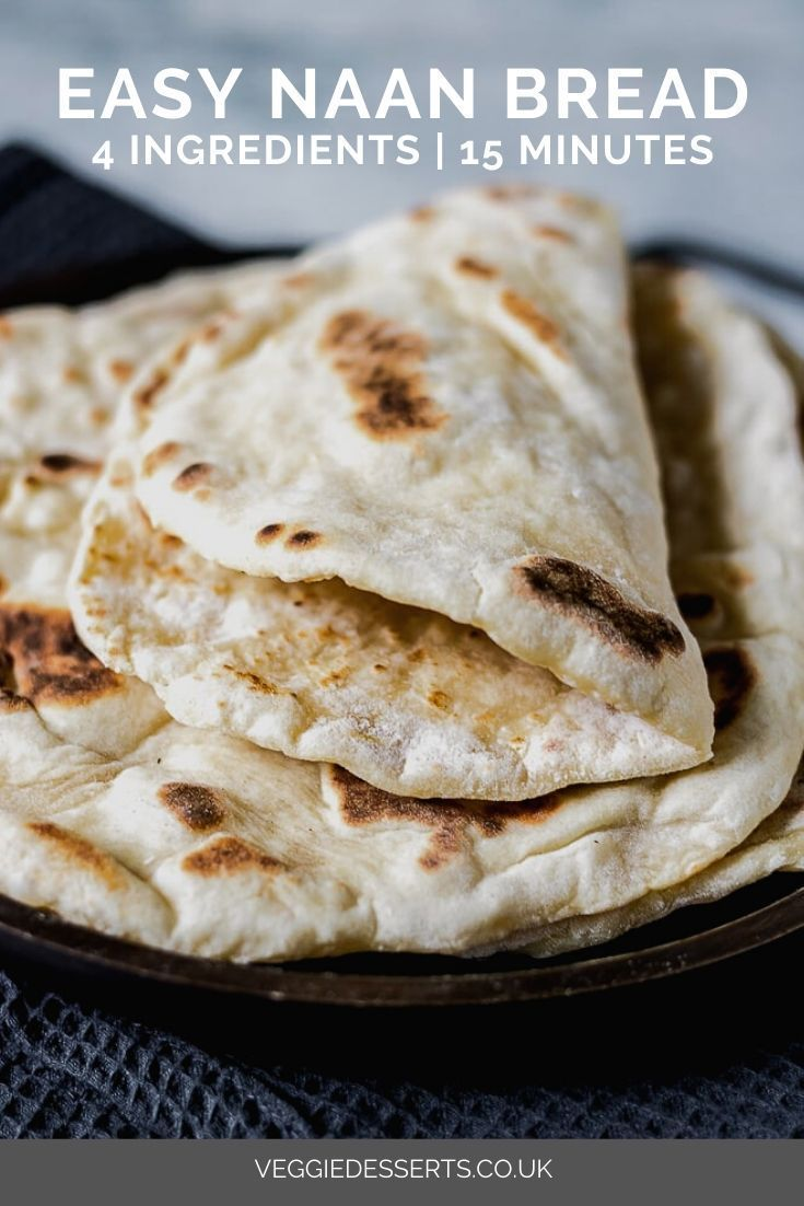 Quick And Easy Yeast Free Naan Bread Recipe Recipes With Naan