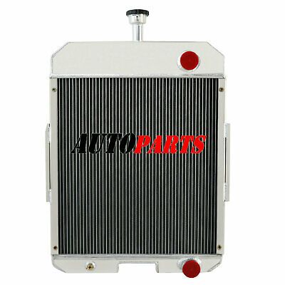 New 3 Row Aluminium Radiator For Allis Chalmers Tractor WC WD WF WD45 Gas or LP