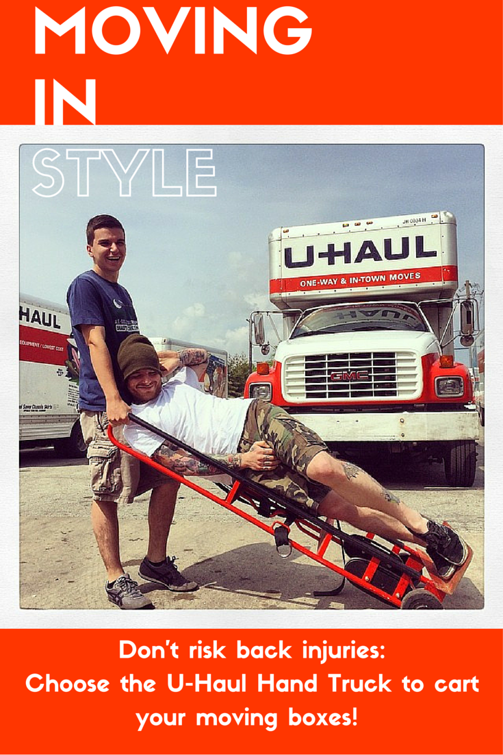 Move In To Your New Place Safely With The U Haul Hand Truck  A Dolly That  Can Lift 600 Lb. And Help You Avoid Throwing Out Your Back.