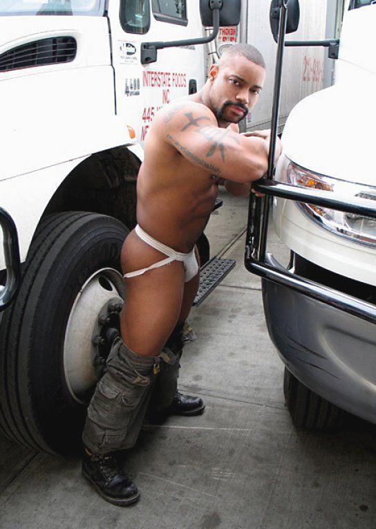 gay truck stop porno