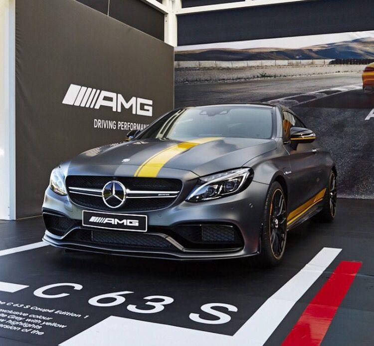 C63 S Edition 1 , Coupe. Mercedes benz australia