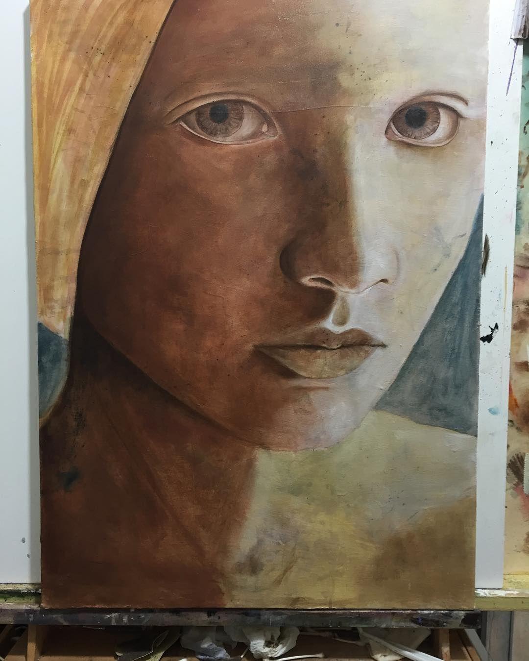 #beauty #paint #artwork #almazzaglia #originalart #oilpainting #oilpaint #artnews