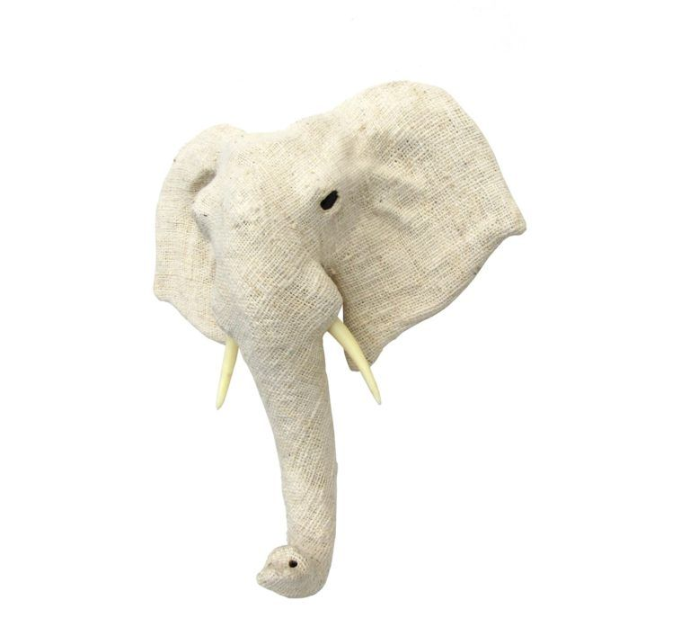 African Elephant Head Wall Decor by BIDKhome (With images ... - photo#23