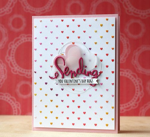 SSS-Tiny Spaced Hearts Stencil