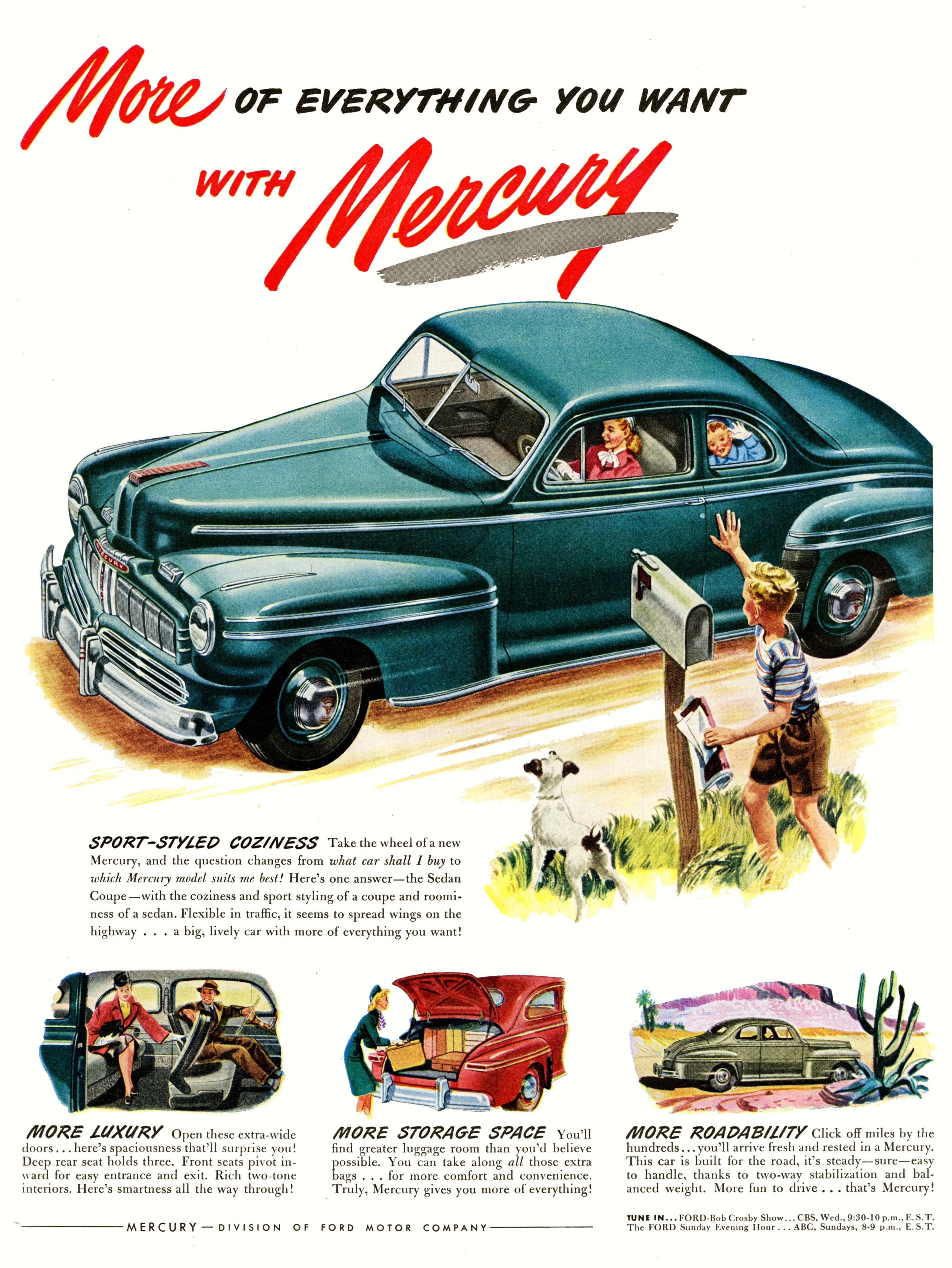 More of everything you want... | Mercury ads | Pinterest | Ads, Cars ...