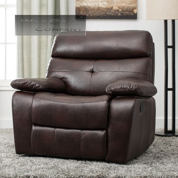 New Leather Recliner Lazy Boy Chair Living Room Reclining