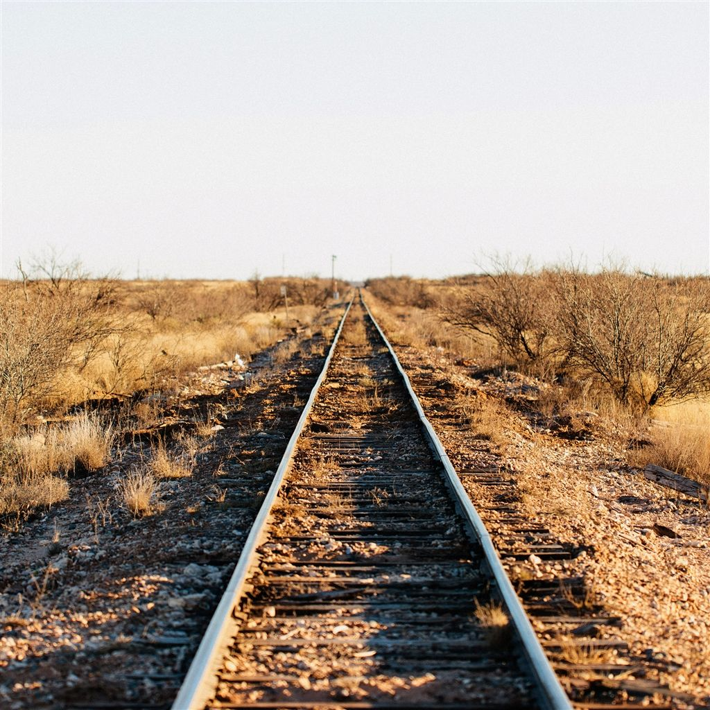 Wither Nature Old Abandoned Train Track Ipad Air Wallpaper  # Muebles Personalizados Bujalance