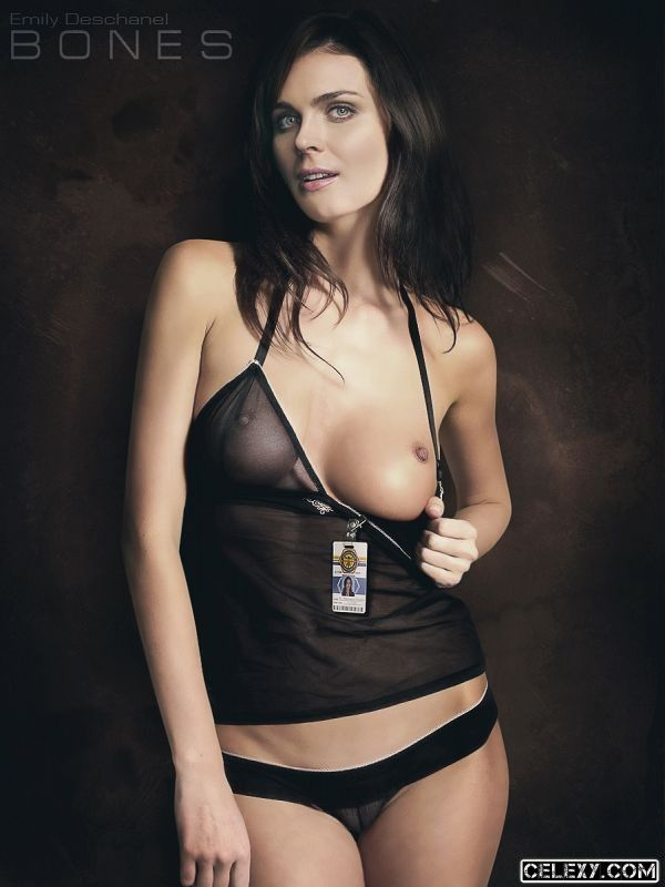 Emily deschanel hot naked pics