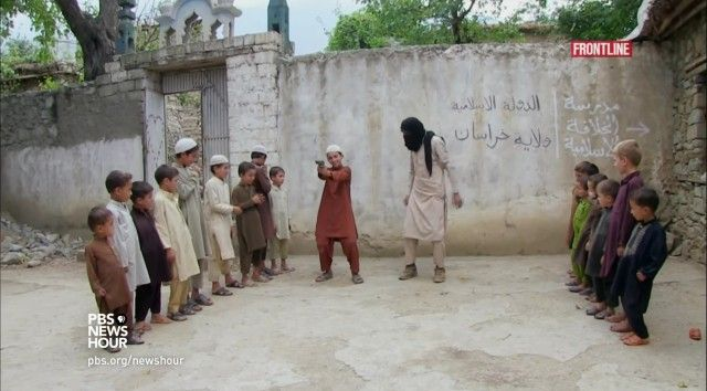 Journalist uncovers shocking indoctrination tactics of ISIS with Afghan children  Source: http://www.glennbeck.com/2015/11/20/journalist-uncovers-shocking-indoctrination-tactics-of-isis-with-afghan-children?utm_source=glennbeck&utm_medium=contentcopy_link