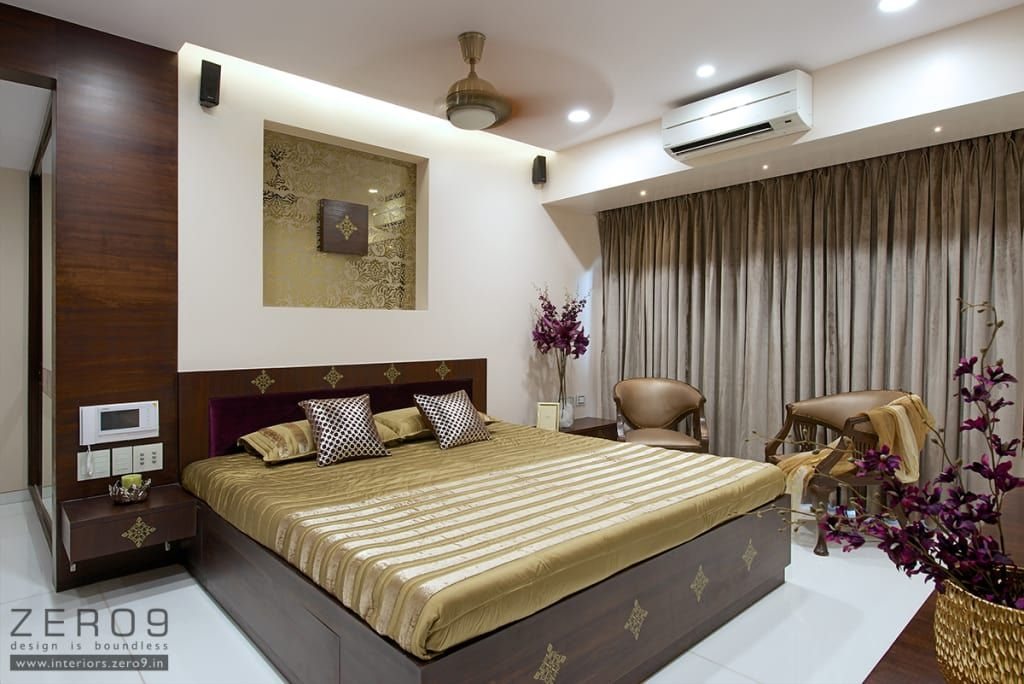Home asian style bedroom by zero9 asian | Modern bedroom ...