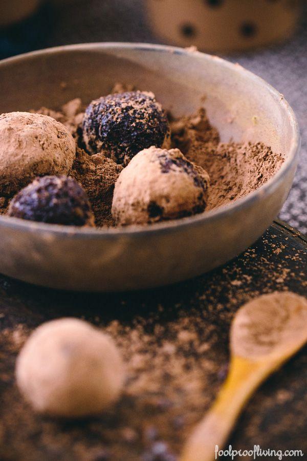 Vegan Cocoa Truffles