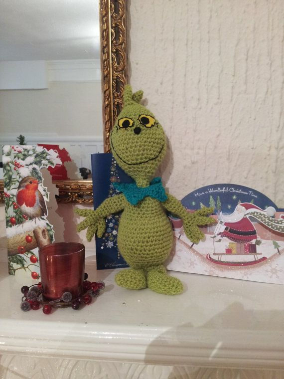 Crochet Grinch doll Dr. Seuss | Orders for norma | Pinterest | Muñecas