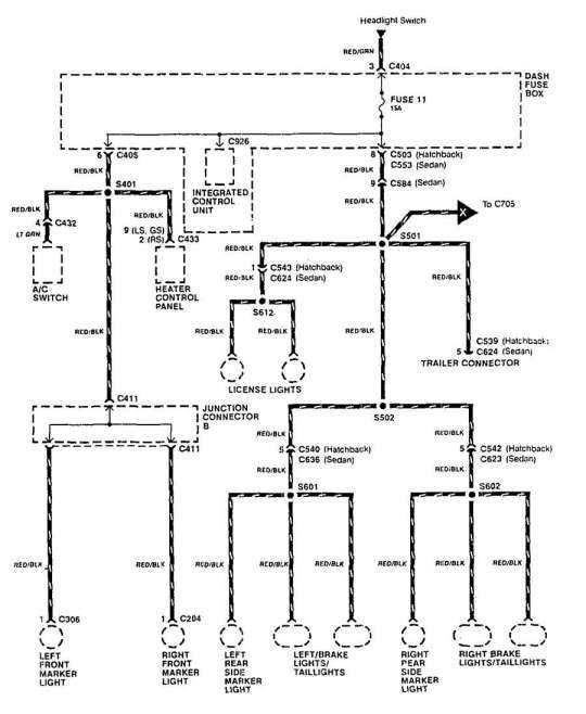 15  91 Integra Engine Wiring Diagram