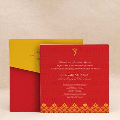 Enchanted bloom red thread ceremony invitation cards munj batu enchanted bloom red thread ceremony invitation cards munj batu threadceremony stopboris Gallery