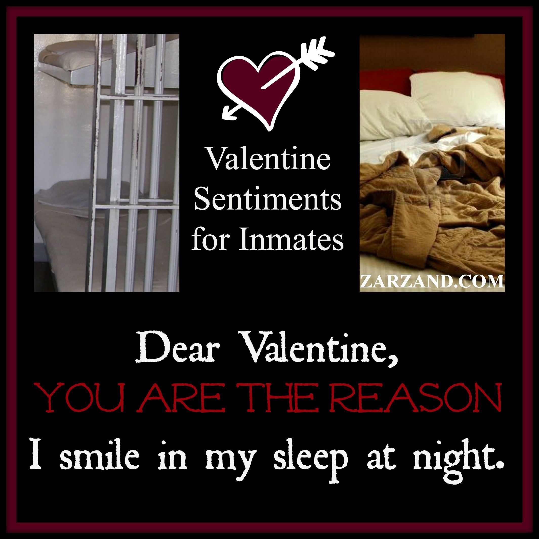 Valetinesday With Your Inmate Zarzand Our Greeting Card