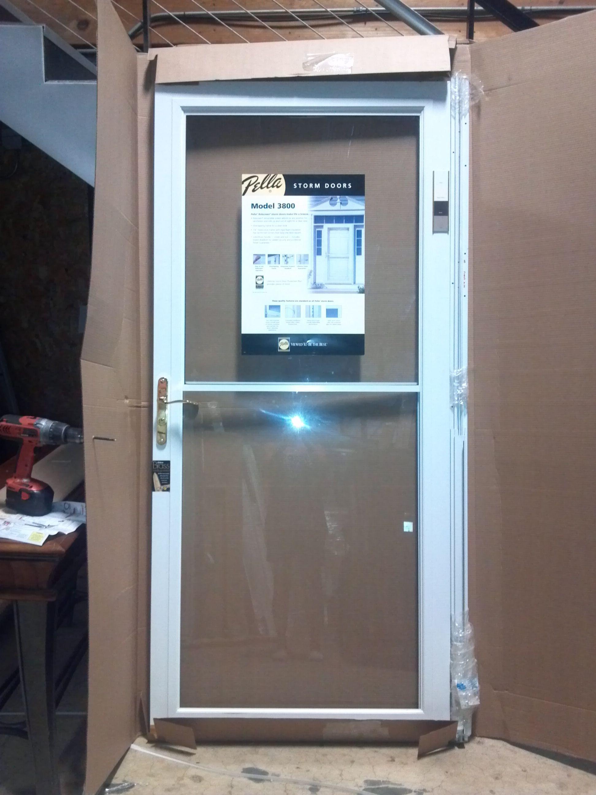 Pella Storm Door With Retractable Screen Httpthefallguyediting