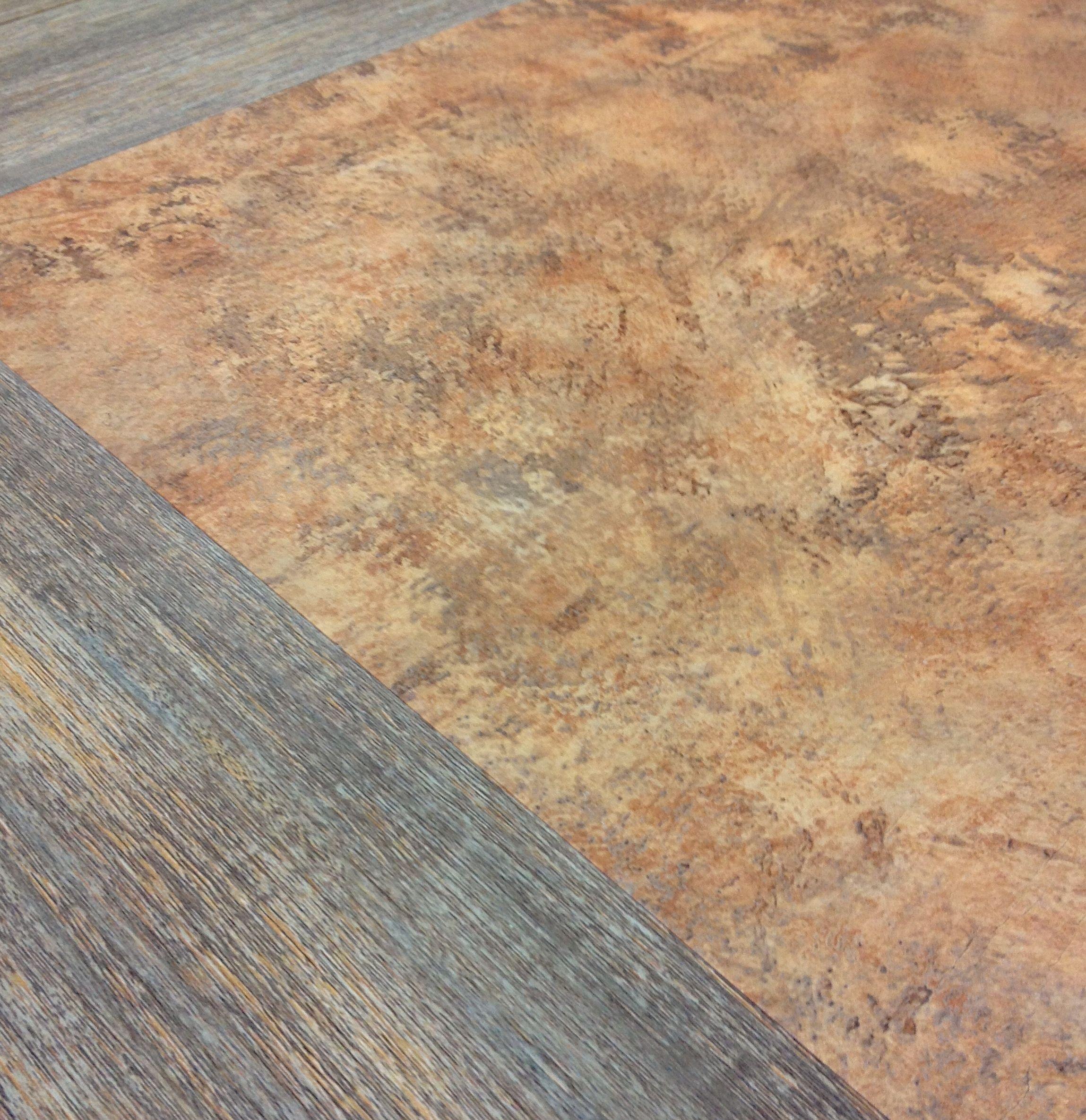 Wood Grains And Linoleum Throwbacks In