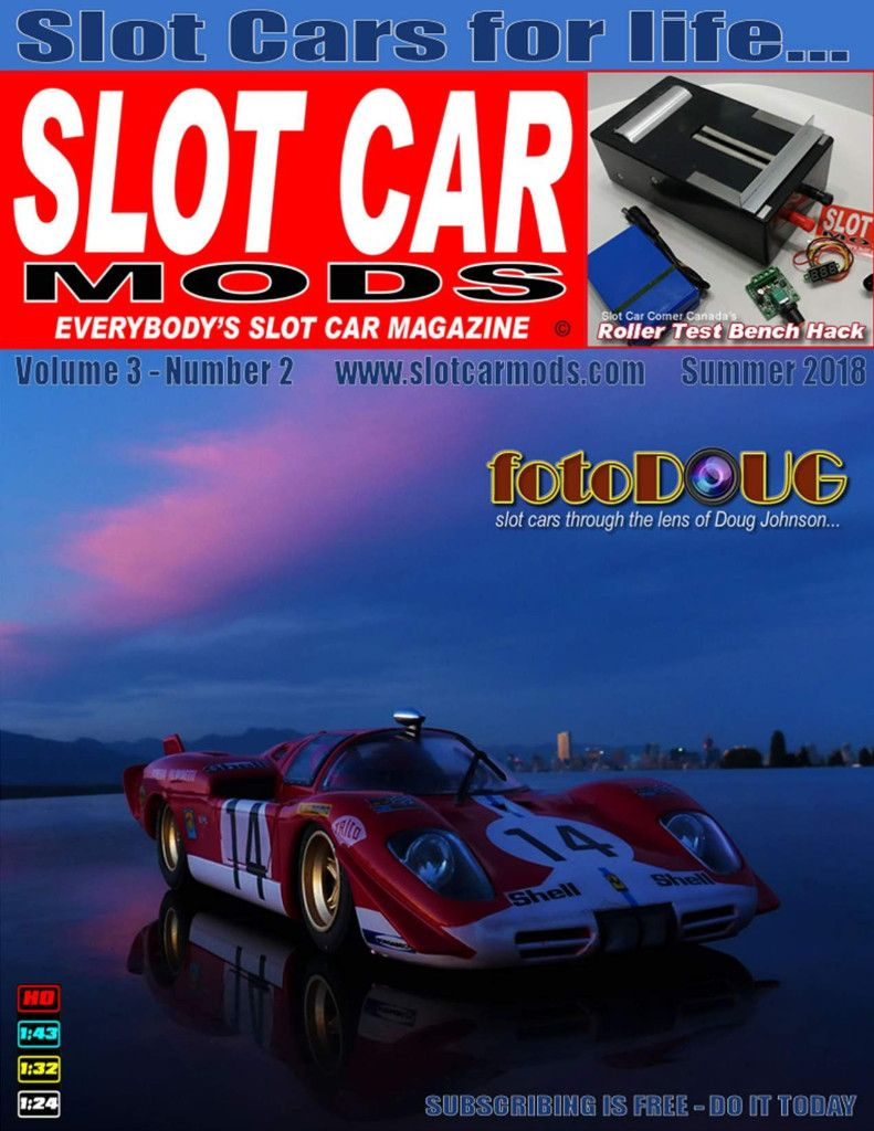 Slot Car Mods Magazine Free And It S The Best Slot Cars Slot Car Tracks Car Mods