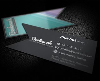 Bookmark Business Card By Kaixergroup Via Creattica Fun Business Card Design Business Card Design Cool Business Cards