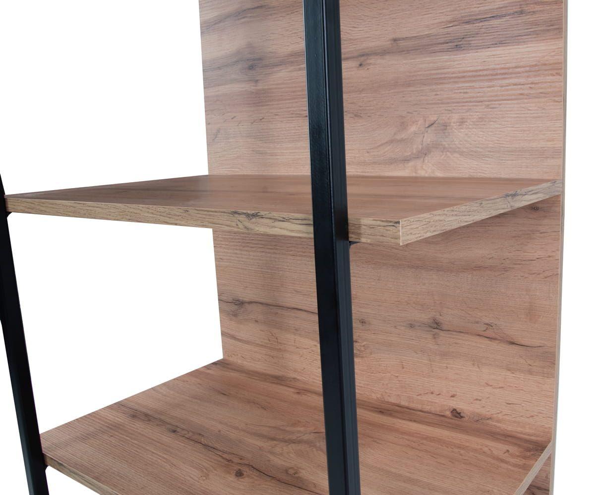 LOFT Open bookcase 65 cm, wotan oak