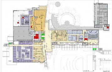 Site Plans Hospital Plans Hospital Amp Lagepl 228 Ne Krankenhaus Amp Plans Du Site H 244 Pital Amp Plan De