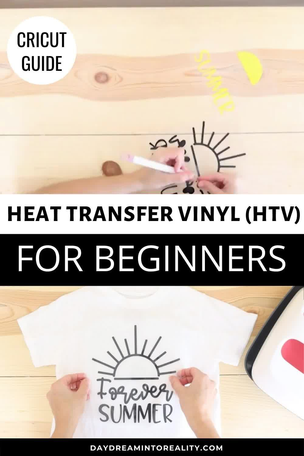 In today's tutorial, you will learn how to use Heat Transfer Vinyl (HTV/Iron-On) to perfection. I am going to cover this material from every angle, and I will be showing you all kinds of examples, so you feel empowered to make any project leaving behind all self-doubt.In #today's #tutorial, #you #will #learn #how #to #use #Heat #Transfer #Vinyl #(HTV/Iron-On) #to #perfection. #I #am #going #to #cover #this #material #from #every #angle, #and #I #will #be #showing #you #all #kinds #of #examples,