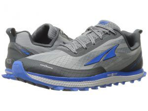 Altra Footwear Superior 3 (Grey/Blue) Men's Running Shoes