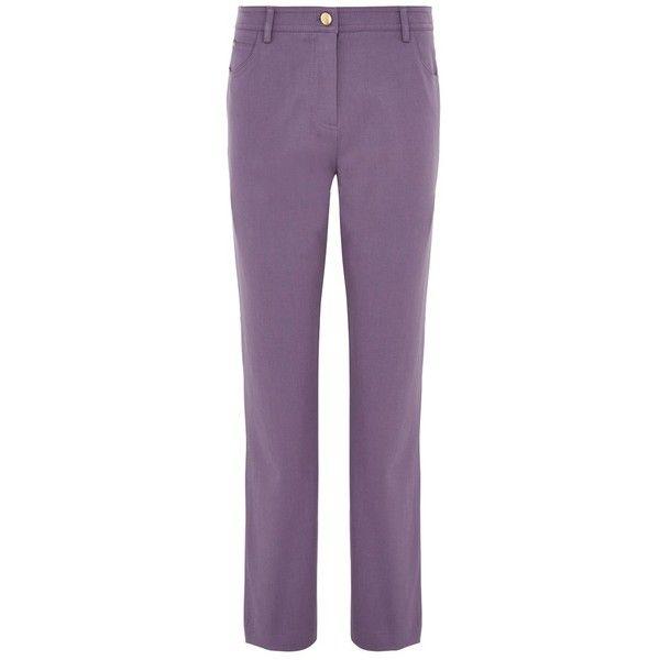 Viyella Long Smart Jeans, Smokey Lavender (140 BAM) ❤ liked on ...