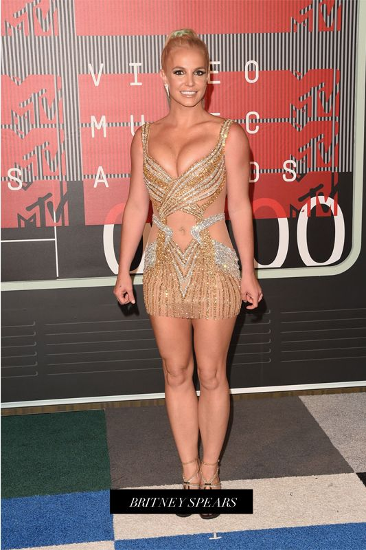 2015 MTV VMAs 音樂大獎紅地毯上女星們的最佳衣着